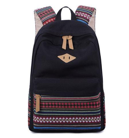 3735c7c824724 Plecak szkolny w azteckie wzory pojemny
