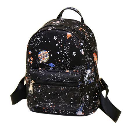 69afe1f9dace8 ... Modny plecak szkolny dla młodzieży kosmos gwiazdy